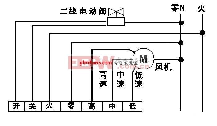 五菱之光空调线路电路图 -空调高清图片