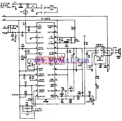27.145MHz的窄带调频接收机