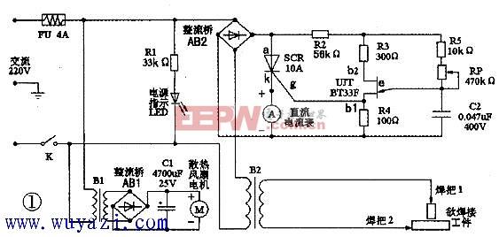 DIY微型交流电焊机图片