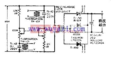 可调大电流遥控电源电路电路图