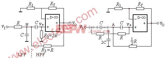 有源带通滤波器(BPF)和带阻滤波器(BEF)基础知识