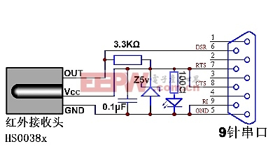 自制红外线电脑遥控器
