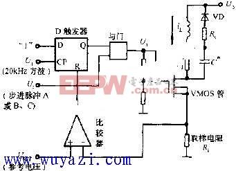 恒频脉宽调制式驱动电路