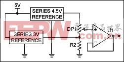 Figure 2. Alternate design features two voltage references.