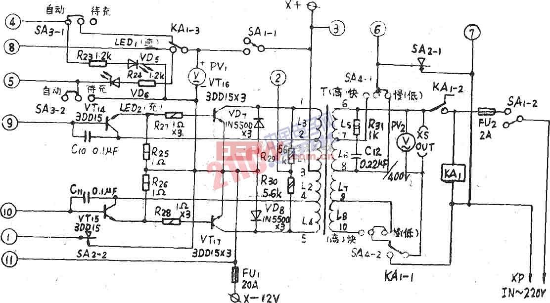 ZDD-I-160全自动多功能逆变电源末级电路