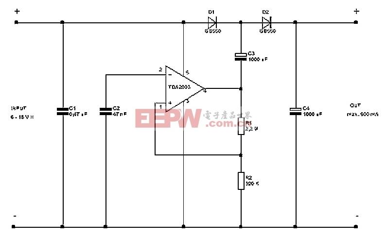 12伏至21伏DC DC转换器电路设计图片