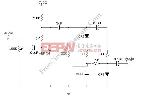 AGC(压缩机)语音处理器电路