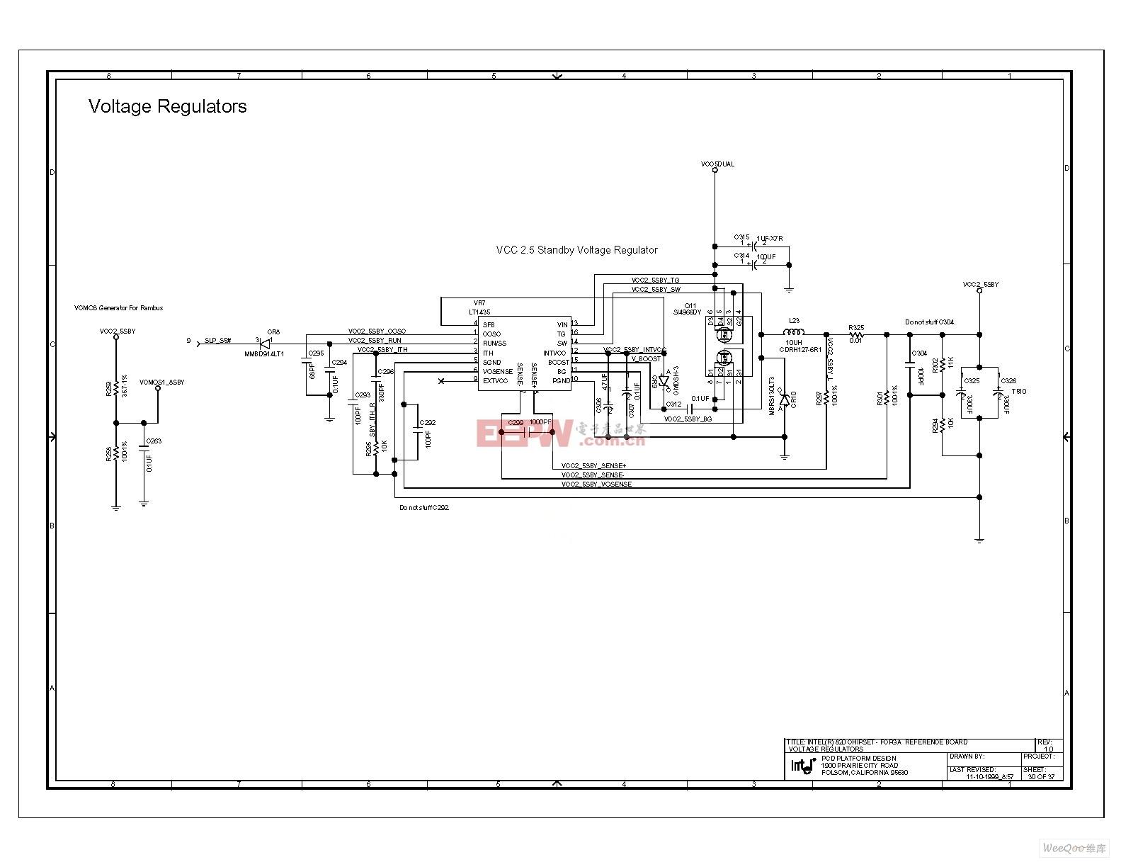 电脑主板电路图 820 1_63