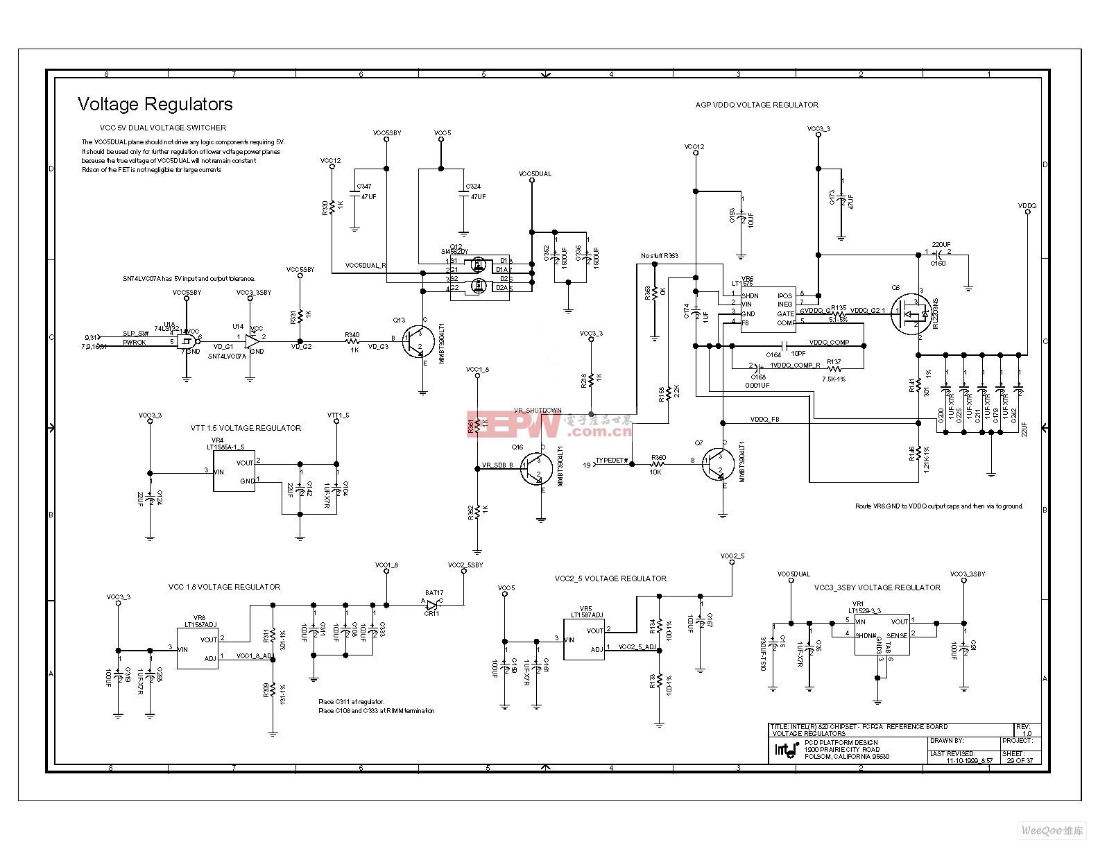 电脑主板电路图 820 1_62