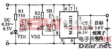 MAX1811锂电池充电控制器