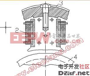 直流电机的结构图片