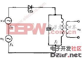 电路图 变频 原理 二极管/二极管变频原理电路图