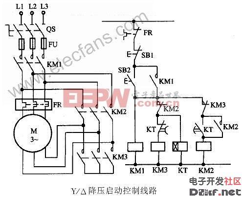 全电压启动力矩的1/,使电机按三角形接线方式运行