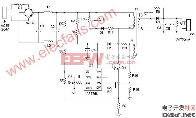 AP3768应用原理图