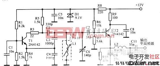 3.955 4. 455 mhzvf0 电路图 电路图 电子产品高清图片