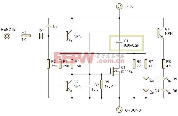 """大电容充电的""""控制器""""电路设计"""