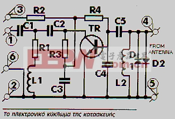 电视信号放大器电路图片