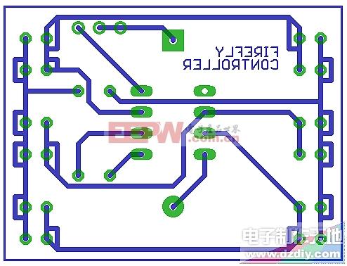 电子萤火虫PCB-Electronic fireflies