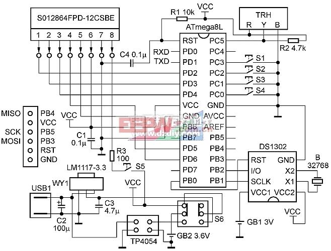 电路原理图图3