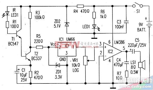 红外线检测器-----IR Detector