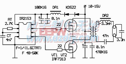 IR2153-电路图-电子产品世界