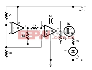 led闪烁灯(英文) led or lamp pulser with ic lm358 电子产品世界Led Or Lamp Pulser With Ic Lm358 #3