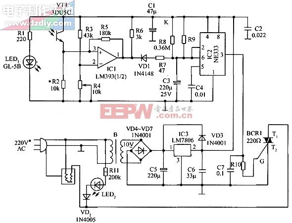 电熨斗自动控制器