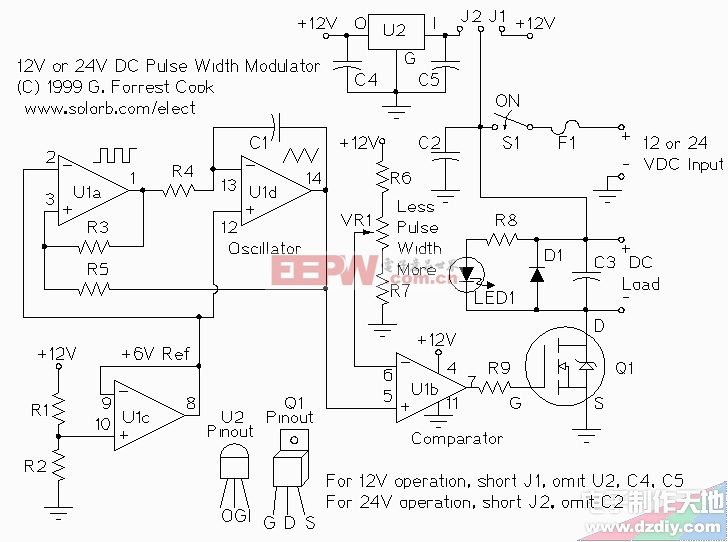 12 volt potentiometer wiring diagram get free image