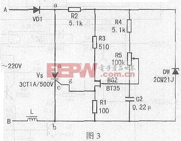 可控硅电机调速电路