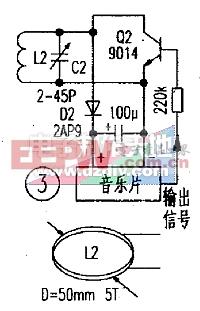 非接触式IC卡(RFID)的制作实验电路图RF card experiment