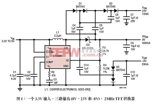LTC3489应用电路