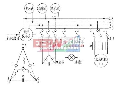 用异步电动机改制成发电机-----power