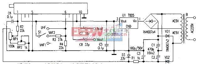 用高频头制作调频接收机LNB Fm receiver