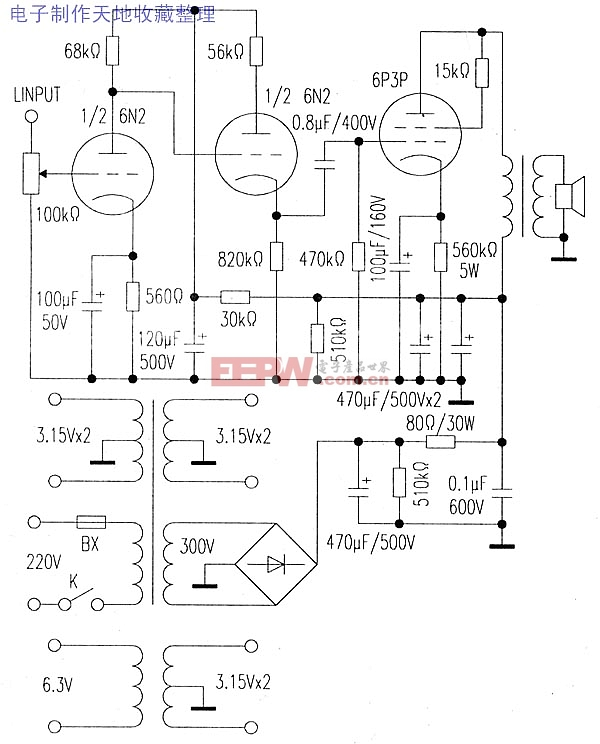 6n2-电路图-电子产品世界图片