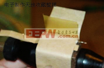 胆机输出变压器制作图解-----output