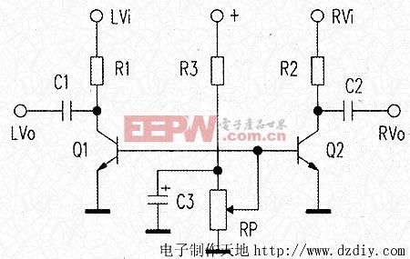 电子制作天地---音量控制电路