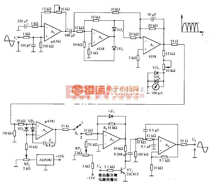 带有自动增益(AGC)控制的振荡电路