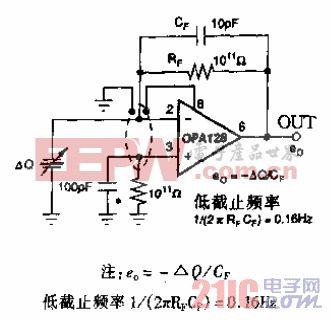 压电传感器检测电路.gif