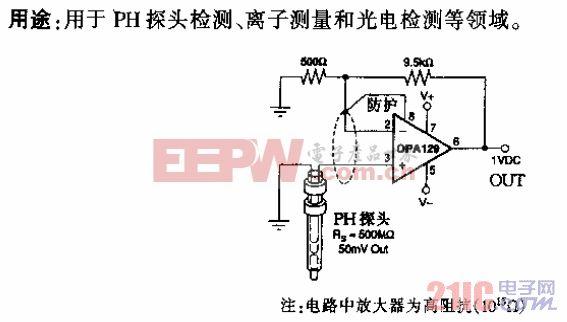 传感器OPA129型超低失调电压隔离运算放大电路.gif
