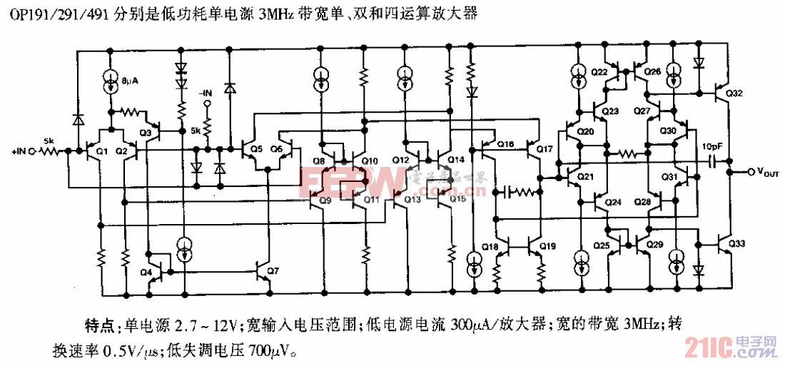 OP191/291/491低功耗单电源运算放大器.gif