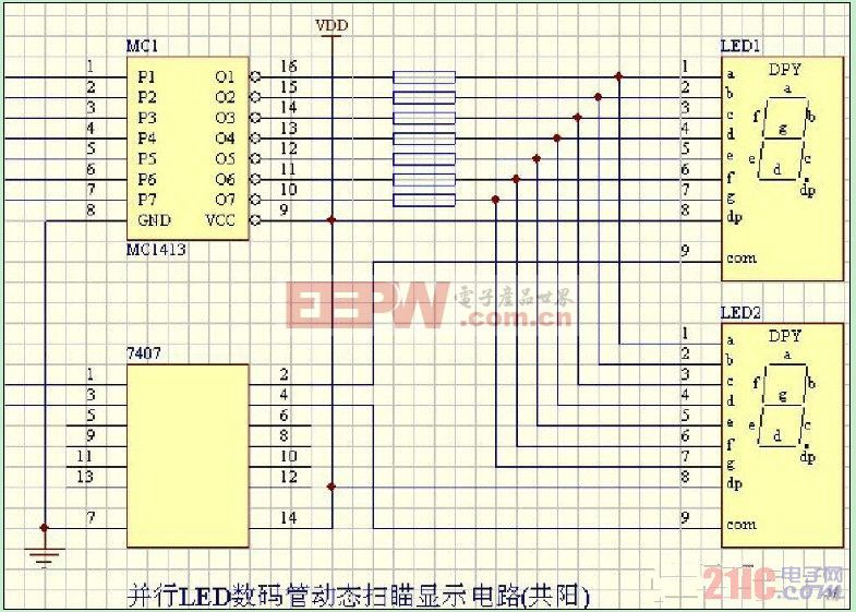 并行LED数码管动态扫瞄显示电路(共阳).jpg