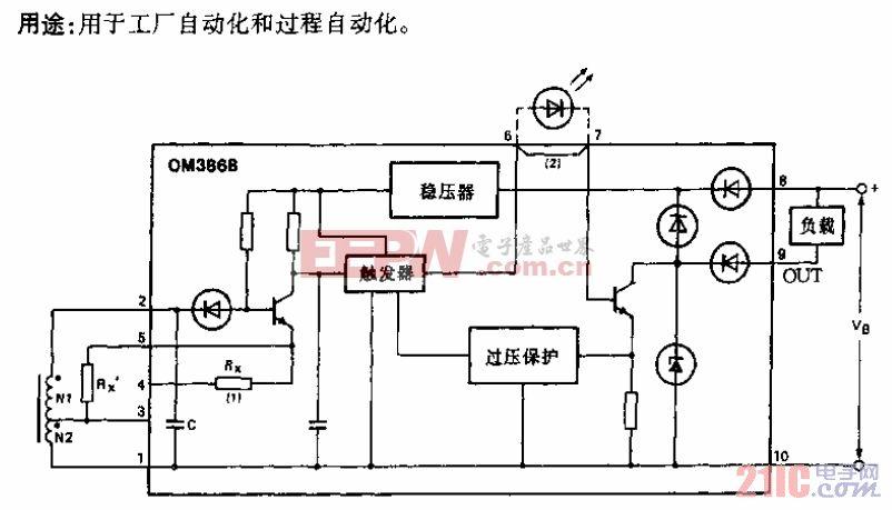 OM386B型电路.gif
