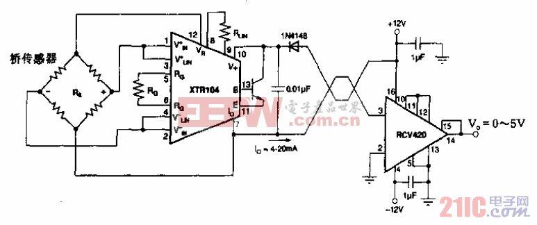 桥传感器发送/接收电路.gif