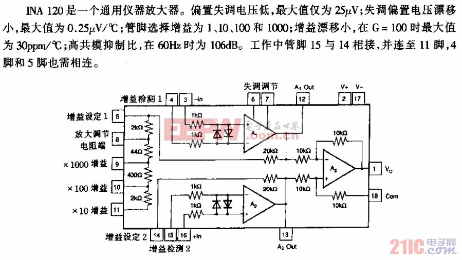 INA120型仪器放大器.gif