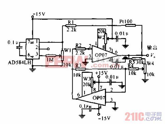 测温非线性校准电路.gif
