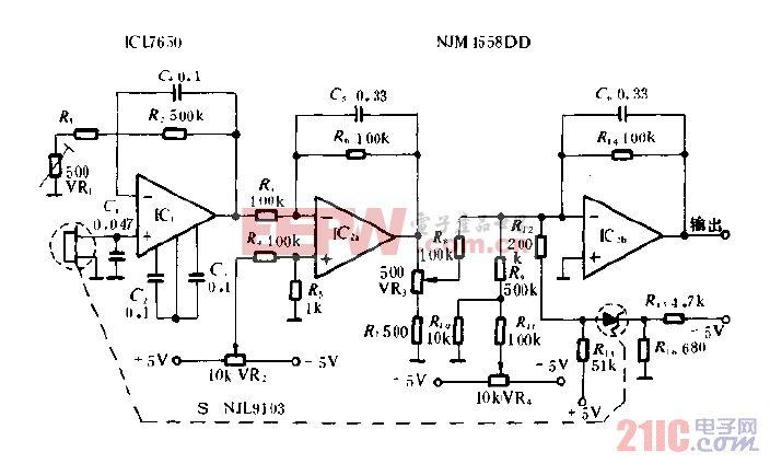 辐射线温度计电路图.gif