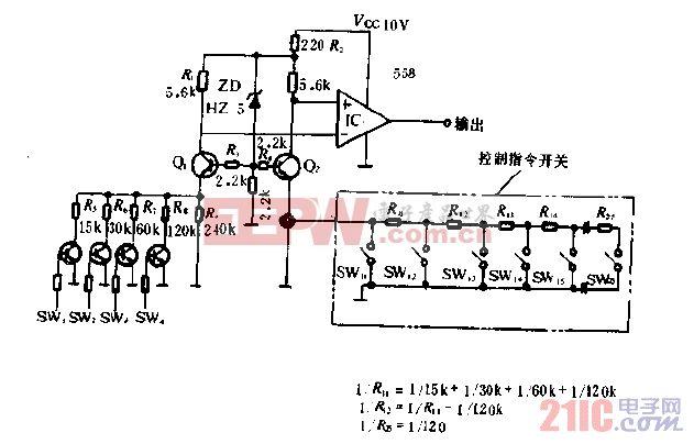 VTR控制命令判别电路图.gif