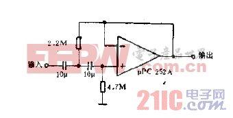 用高通滤波器去掉偏置电压电路图.gif