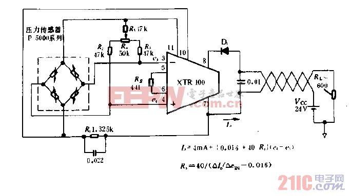 传送传感器信号的电路图.gif