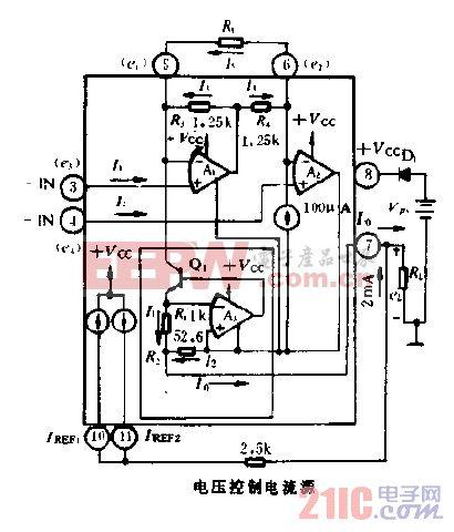 XTR100简单电路图图片